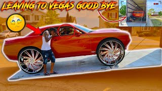 *EMOTIONAL* SOLD MY CHALLENGER TO CJ SO COOL OFF TO VEGAS SHE GO