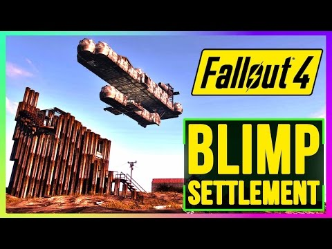Fallout 4 Settlement Build Defensible Settlement (Top Survival Base Build, Best Settlement)