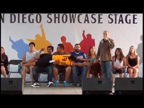 Delmar Fair Hypnotist Show 2014 Part 1