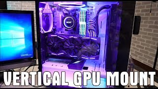 How to Mount a vertical GPU in your pc (easily!) - S340 Elite