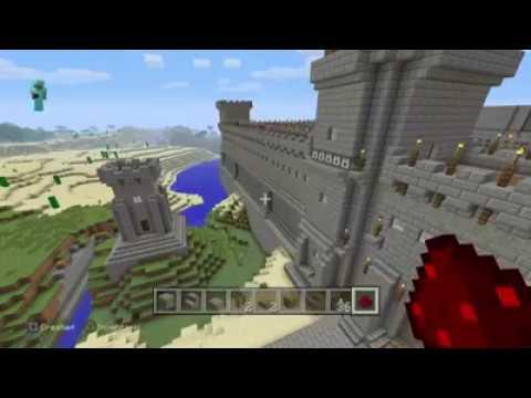 PS4share MineCraft: Pfeilschussanlage alte Burg