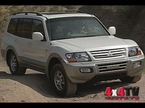2002 Mitsubishi Montero Test #2 - 4x4TV Test Videos
