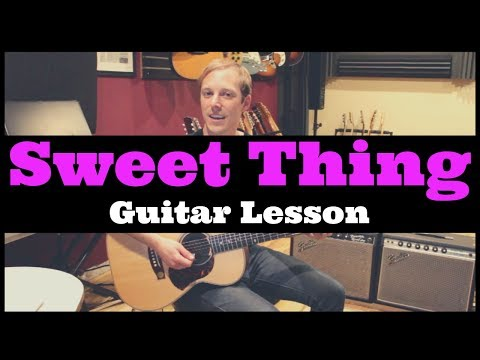 Sweet Thing Van Morrison Guitar Lesson