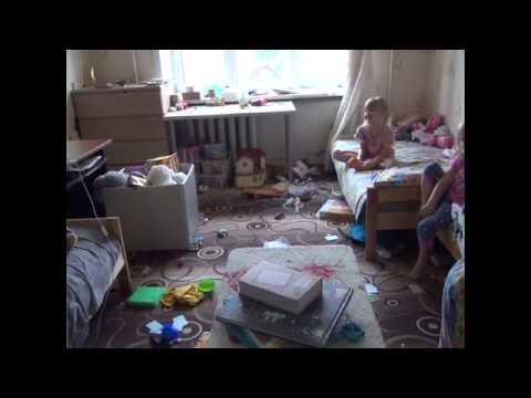Порядок в детской комнате...