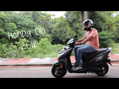 New 2018 Honda DIO Full Review!! (DLX & STD version)