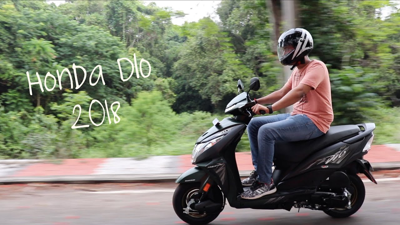 New 2018 Honda DIO Full Review!! (DLX & STD version) - YouTube