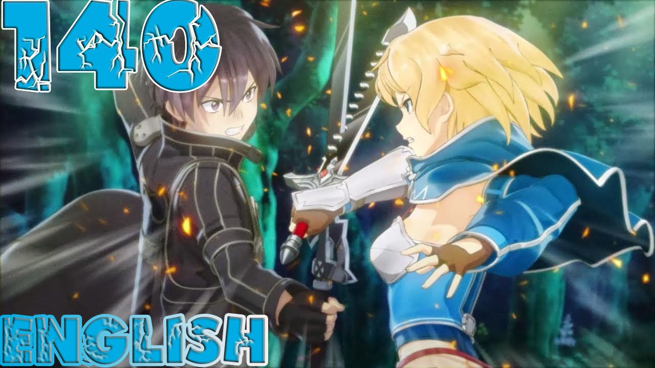 Sword Art Online: Hollow Fragment - Walkthrough Gameplay Part 140 - English  PS Vita No Commentary