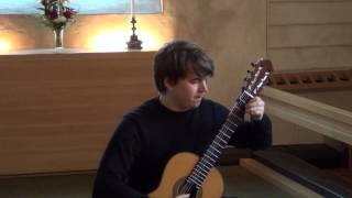 J. S. Bach Gigue-Double from Suite BWV 997 by Patrik Kleemola, guitar