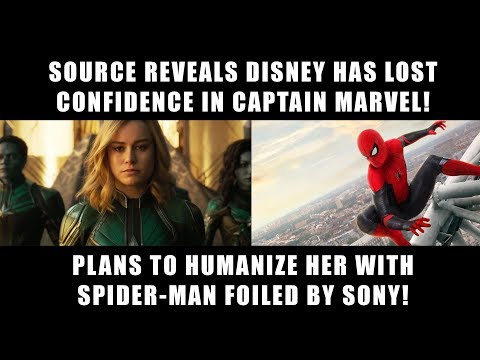 Disney Loses Confidence in Captain Marvel According to Source!
