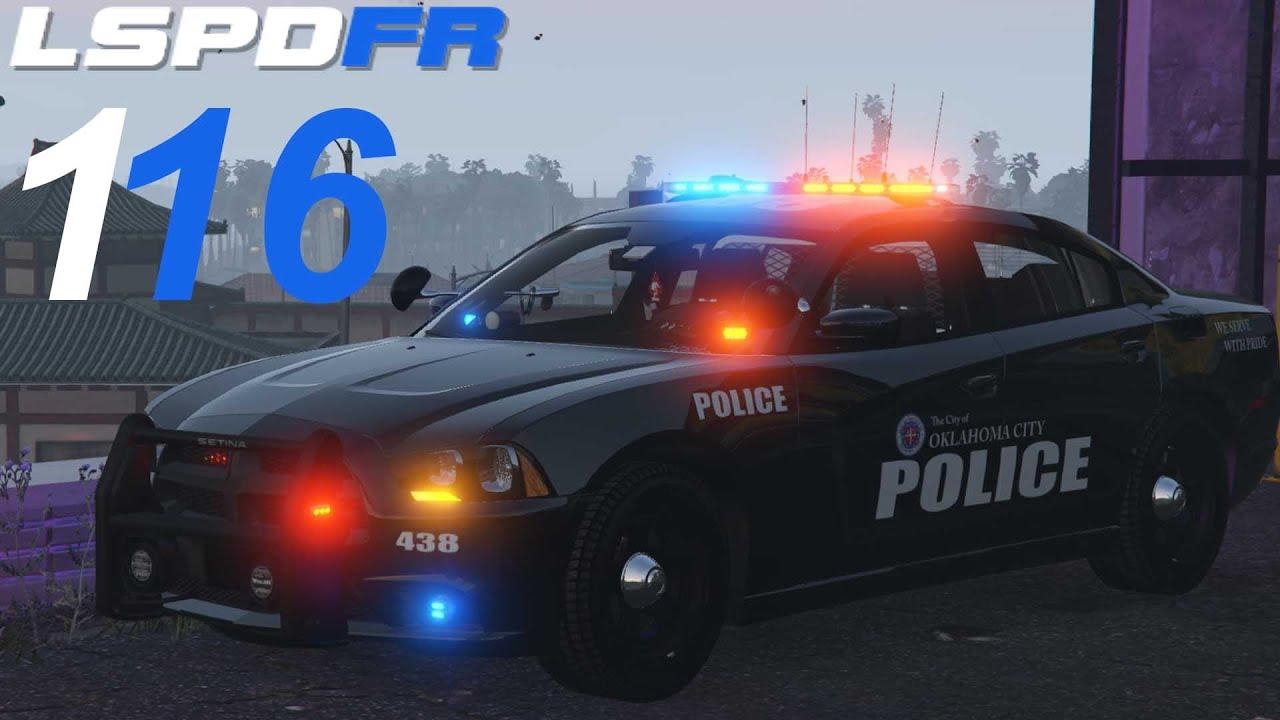 GTA 5 LSPDFR SP #116 Oklahoma City Police