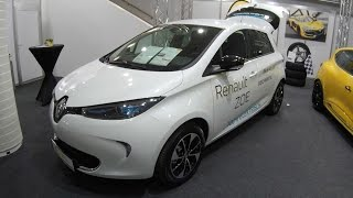 RENAULT ZOE !! ZE 40 100% ELECTRIC CAR 400KM !! WHITE COLOUR !! WALKAROUND + INTERIOR !! MODEL 2017