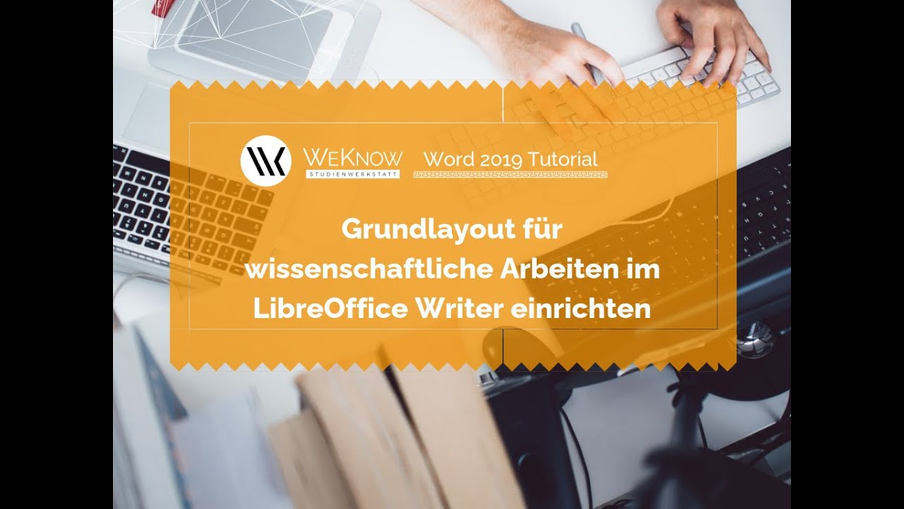 Libreoffice Writer Formatvorlage Einrichten Youtube
