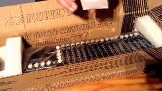 Move Control dmx 512 Eurolite Unboxing