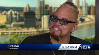 """Sinbad gives Pittsburgh a new slogan: """"Pittsburgh - Get It!"""""""