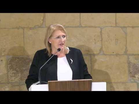 Opening Speech by Her Excellency the president of Malta Marie-louise Coleiro Preca