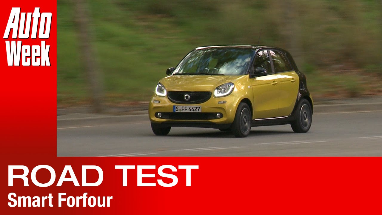 Smart Forfour Road Test