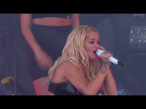 Rita Ora performing Anywhere live at the Isle of Wight Festival 2018