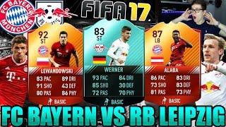FIFA 17: BAYERN MÜNCHEN VS RB LEIPZIG! ⛔️🔥 (DEUTSCH) - ULTIMATE TEAM - BEAST SQUAD BUILDER!