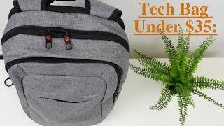 What's in my Tech Bag!  Ep.1 - (Tigernu Backpack Review)