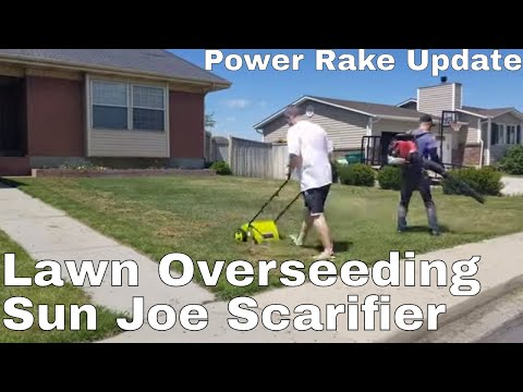 sunjoe-scarifier-review-and-ugly-lawn-power-rake-update.-diy-how-to-fix-ugly-lawn