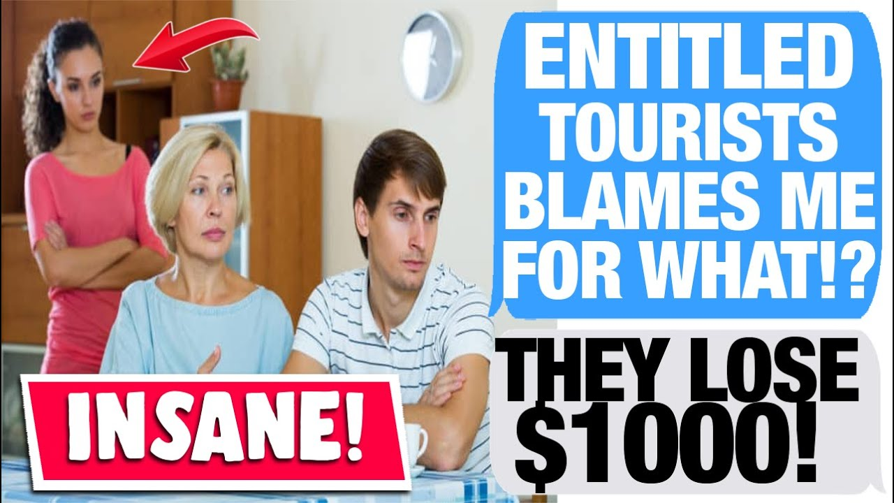 r/EntitledPeople - Pathetic Tourists Miss Their Cruise Ship!