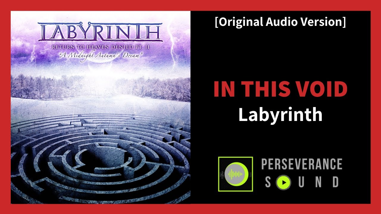 Original Audio Version In This Void Labyrinth Power Metal Song Youtube