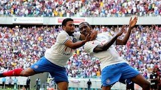 Bahia 2 X 0 Vitória. Gols de Talisca e Fahel (6/4/2014)