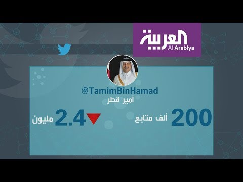 لماذا خسر أمير قطر مليوني متابع في تويتر؟  - 18:21-2018 / 7 / 13