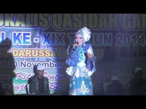 LASQI - JUARA 1 REMAJA PUTRI FESTIVAL BINTANG VOKALIS QASIDAH GAMBUS NASIONAL XIX 2014 PALU SULTENG