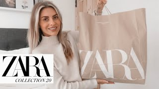 ZARA HAUL - NEW IN 2020 | Fashion Influx