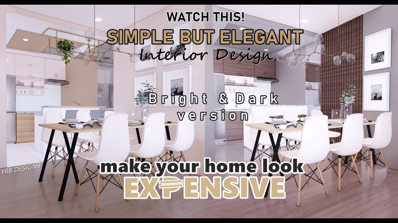 Small House Design | 50 sqm Townhouse Ideas | Make Your Home Look Expensive | Small Space Decor