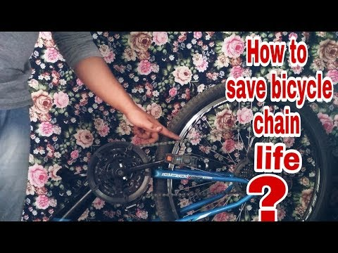 How To Save Your Bi-Cycle Chain Life...Cleaning & lubing