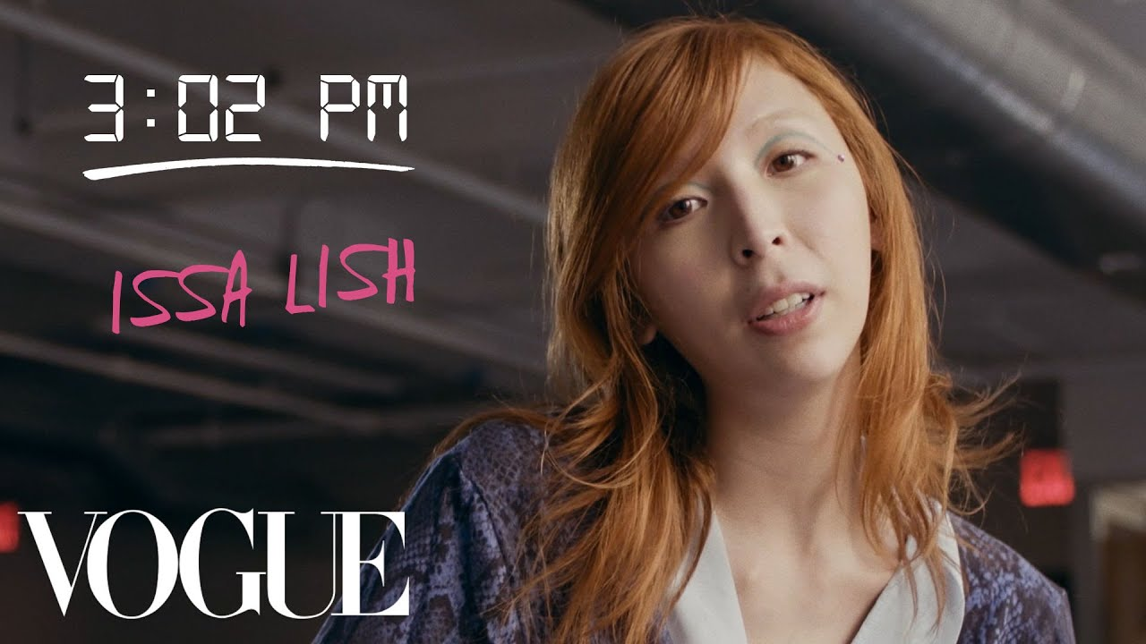 How Top Model Issa Lish Gets Runway Ready | Diary of a Model | Vogue