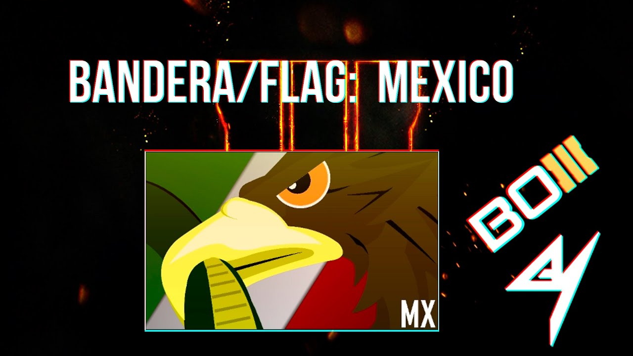 black ops 3 emblem tutorial flag mexico youtube
