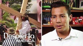 Qué se necesita para interpretar a Cristo en la Pasión de Iztapalapa, México