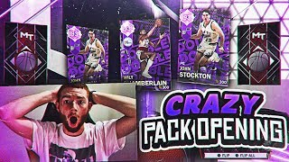 4 AMETHYST PLAYER PULLS!! CRAZY DOUBLE DOUBLE PACKS!! (NBA 2K18 MYTEAM)