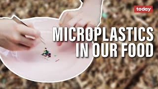 Microplastics in our food