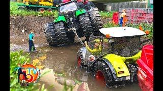 BRUDER TOYS Traktor Construction Company CAT Claas thunder storm Part.2.