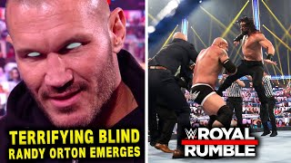 Terrifying Blind Randy Orton Emerges In WWE Roman Reigns Replaces Drew McIntyre Leaked WWE News