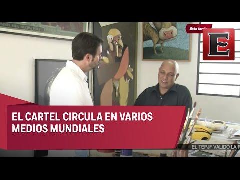 Arístides Hernández y su cartel Cuba post Castro