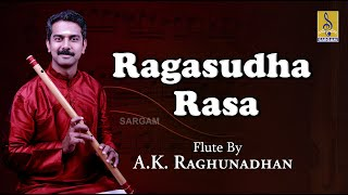 A Flute Carnatic Classical concert by A.K. Raghunadhan | Ragasudha Rasa Jukebox