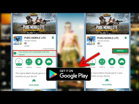 Pubg Mobile Lite Download On Android| on Playstore | Without DNS | Fix Errors