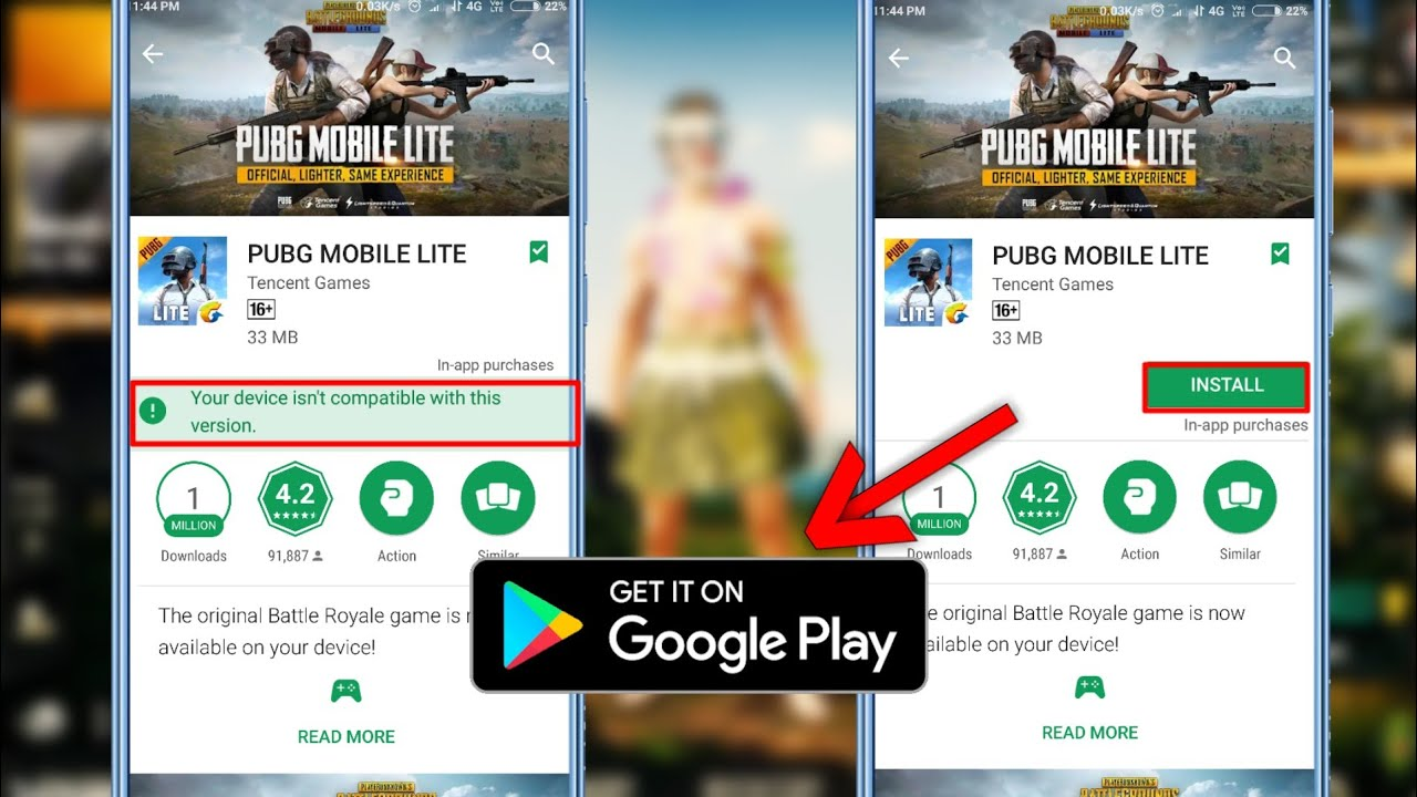 Pubg Mobile Lite For Android: Pubg Mobile Lite Download On Android