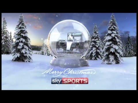 Sky Sports - Lewis Hamilton Snow Globe - Christmas 2015