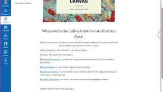 Canvas for Parents: Video 2 of Navigating a Canvas Course