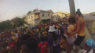 Jouvert Morning in Antigua with Caution 2015 Part 1