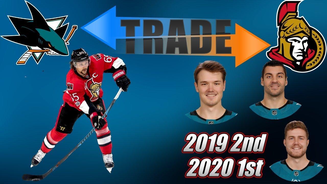 BLOCKBUSTER! Sharks acquire Erik Karlsson from Senators in mega deal