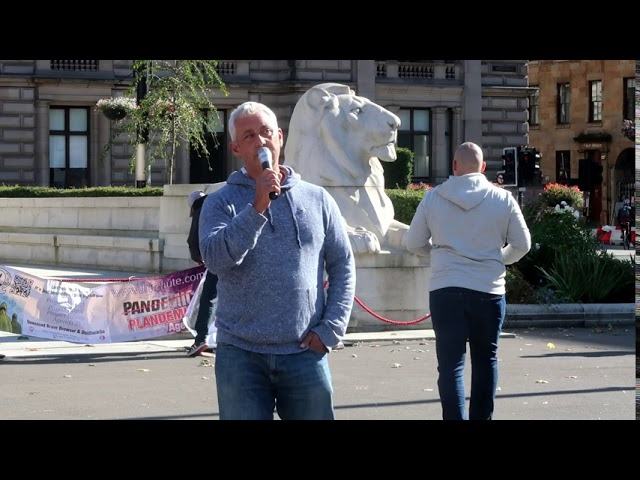 Billy Watson TV - George Square - 26/9/20 - Jon Wedger