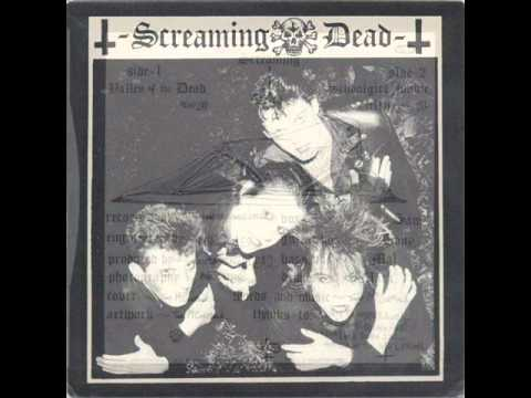 Screaming Dead - Valley Of The Dead 7''(1982)