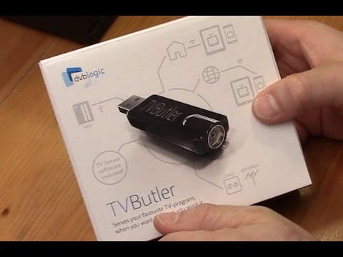 Unboxing TVButler 100TC, DVB-C USB Stick